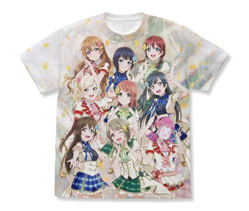 【コスパ】ラブライブ! 虹ヶ咲学園スクールアイドル同好会 フルグラフィックTシャツ WHITE / S[グッズ]