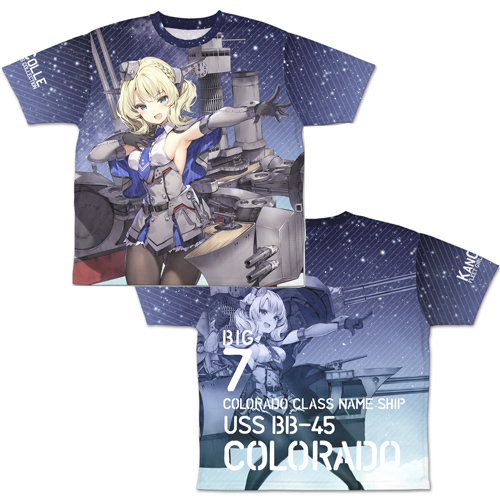 【コスパ】艦隊これくしょん -艦これ- コロラド 両面フルグラフィックTシャツ XL[グッズ]