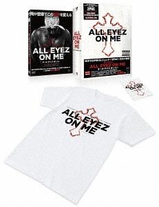 超激得SALE メール便利用不可 オール アイズ 注文後の変更キャンセル返品 オン ミー 1000セット初回限定生産 洋画 ステッカー付きBOX Tシャツ DVD
