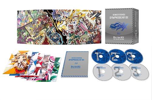 戦姫絶唱シンフォギアGX[Blu-ray] Blu-ray BOX [3Blu-ray+3CD/初回限定版] / アニメ
