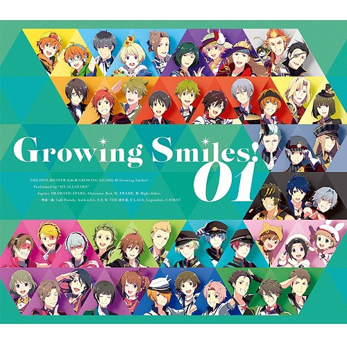 THE IDOLM@STER SideM GROWING SIGN@L[CD] 01 Growing Smiles! / 315 ALLSTARS
