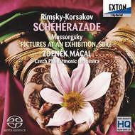 リムスキー=コルサコフ:「シェエラザード」 ムソルグスキー:「展覧会の絵」 [SACD] / ズデニェク・マーツァル (指揮)