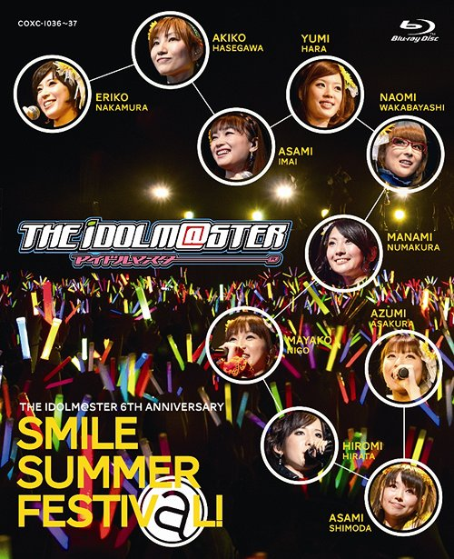 THE IDOLM@STER 6th ANNIVERSARY SMILE SUMMER FESTIV@L! Blu-ray BOX (デジパック仕様) [Blu-ray] / オムニバス