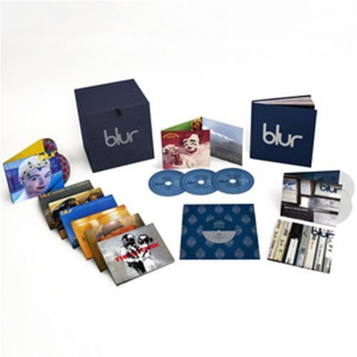 【メール便利用不可】 ブラー 21: ザ・ボックス [リミテッド・エディション] [18CD+3DVD+7INCH-VIYNL/輸入盤][CD] / ブラー