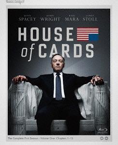 ハウス・オブ・カード 野望の階段 SEASON 1 Blu-ray Complete Package 〈デヴィッド・フィンチャー完全監修パッケージ仕様〉[Blu-ray] / TVドラマ