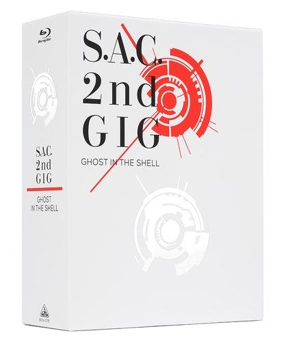 攻殻機動隊 S.A.C. 2nd GIG Blu-ray Disc BOX SPECIAL EDITION [特装限定版][Blu-ray] / アニメ