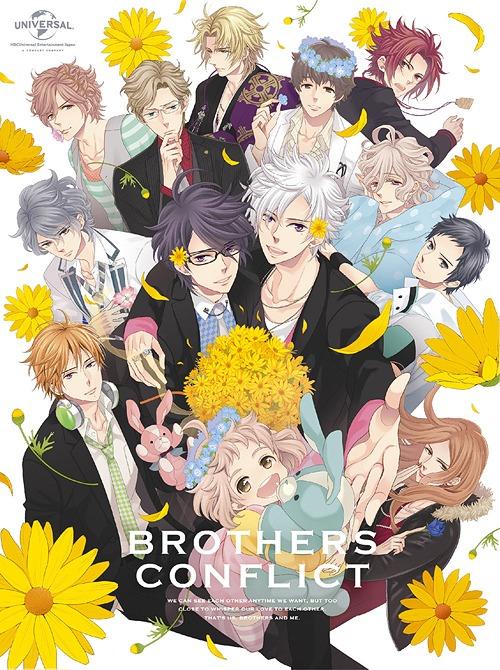 BROTHERS CONFLICT Blu-ray BOX [初回限定生産][Blu-ray] / アニメ
