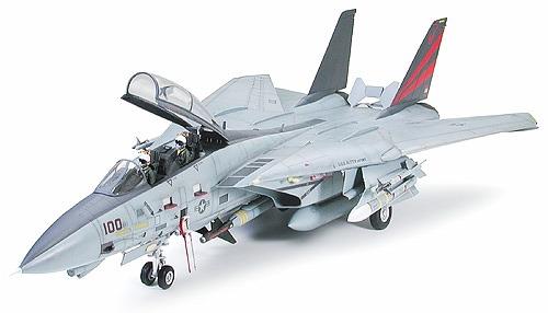 """【タミヤ】1/32 エアークラフトシリーズ No.13 グラマン F-14A トムキャット """"ブラックナイツ""""[グッズ] / ※ゆうメール利用不可"""
