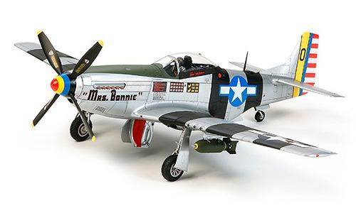 1/32 エアークラフトシリーズ No.23 ノースアメリカン P-51D/K マスタング 太平洋戦線[グッズ]