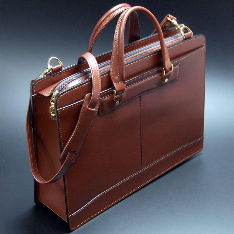 e9364f19ee8f 日本製 職人鞄 栃木レザー 本革 ビジネスバッグ メンズ ビジネスバッグ ...