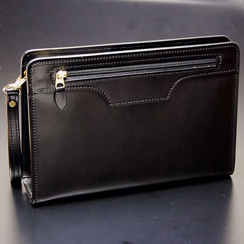 877f4aaa38 Nep: Men's, second clutch back bag men clutch bag hand strap metal fittings  (gold color) black for bag, cowhide mousse leather that a second bag  craftsman ...