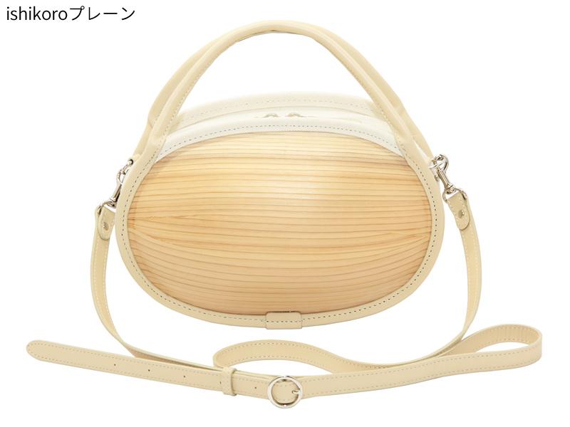 日本製 木製バッグ monacca ishikoro バッグ レディース ショルダー 小さめ ブランド 本革 ショルダーバッグ トートバッグ 手提げカバン 手提げ 2way カジュアル おしゃれ 本革 ショルダーバック トートバック 女性 プレーン