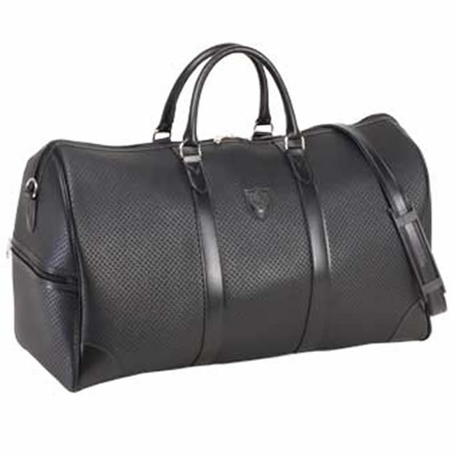 Made In An Toyooka Bag Boston Men S Shoulder Punching Leather 50 Cm Black Golf Travel And Business