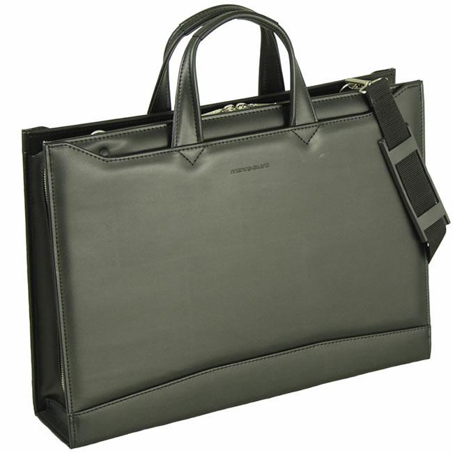ビジネスバッグ メンズ ショルダー付属 日本製 豊岡製鞄 豊岡 かばん ブリーフケース 軽量 メンズバッグ 大容量 ビジネスバッグ 出張 ビジネス ブリーフケース メンズ鞄 ビジネスバッグ 合皮 本革付属 b4 B4ファイル 45cm ブラック 黒