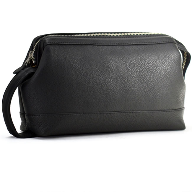 An Leather Clutch Bag Soft Triangular Porch Second 26 Cm Vertical Handles Corporate Men S Gentlemen Bags