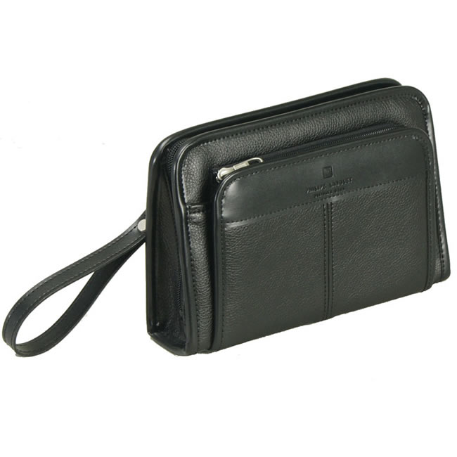 Made In An Toyooka Bag Clutch Second Pouch Black 22 Cm Business Handle Hand Included Men With Skin Leather Mens Bags