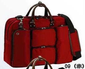 ビジネスバッグ メンズ ショルダー付属 ボストンバッグ ナイロン 大型 大容量 ビジネスバッグ メンズ ブリーフケース 軽量 メンズバッグ ボストンバッグ 出張 ビジネス ボストン ブリーフケース メンズ鞄 出張 旅行 旅行鞄 2泊 3泊 2way b4 B4 25cm 赤 レッド
