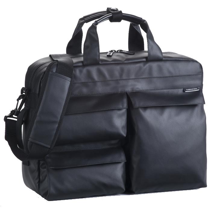 ビジネス リュック メンズ ビジネスリュック ビジネスバッグ ショルダー付属 リュックサック 2way ブリーフケース 軽量 リュックサック 2way 3way 大型 大容量 ビジネス リュック メンズ リュックサック 出張 旅行鞄 2泊 通勤 pc対応 ブランドHAMILTON b4 B4 黒 ブラック