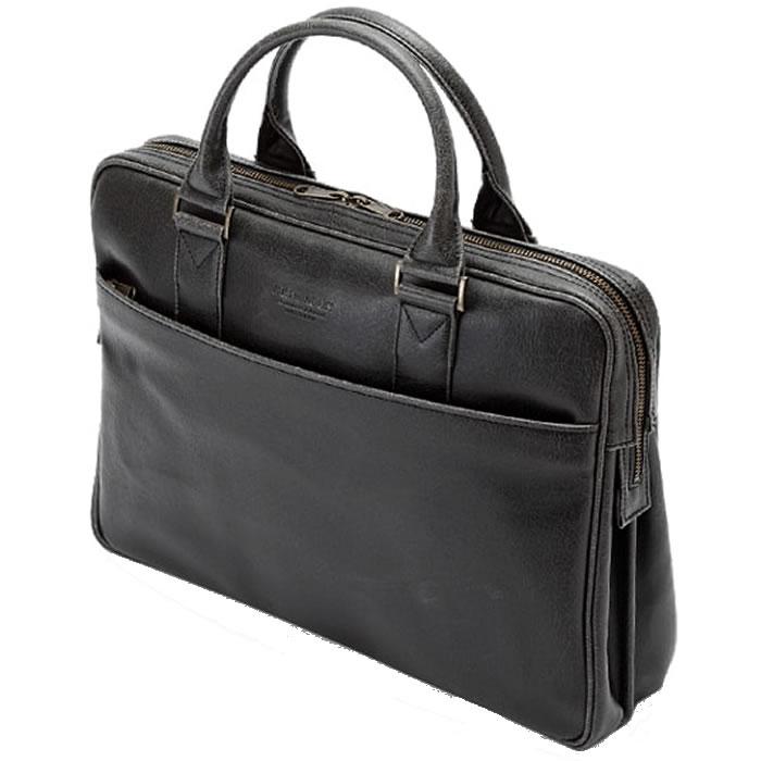 ビジネスバッグ 軽量 ブリーフケース 革 白化合皮 メンズ 日本製 豊岡製鞄 豊岡 かばん ビジネスバッグ メンズ ブリーフケース レザー メンズバック ビジネスバック 出張 ビジネスバッグ 男性用 紳士用 鞄 b4 B4 40cm 黒 ブラック