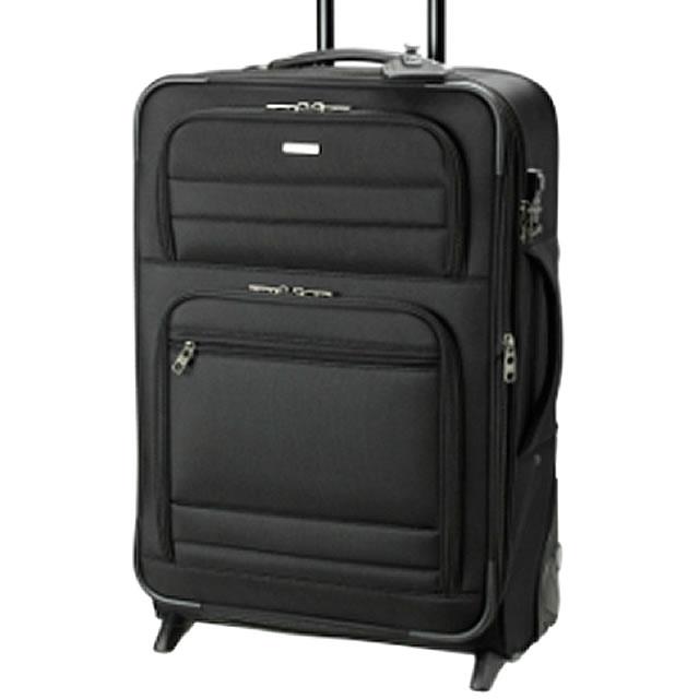 スーツケース M 2輪 キャスター 付き キャリーバッグ 旅行用品 ナイロン系 キャリー バック ソフト ケース ビジネストラベル バッグ 海外出張 メンズ 男性用 紳士用 鞄 ブランド BERMAS バーマス 60425 55L 代引不可