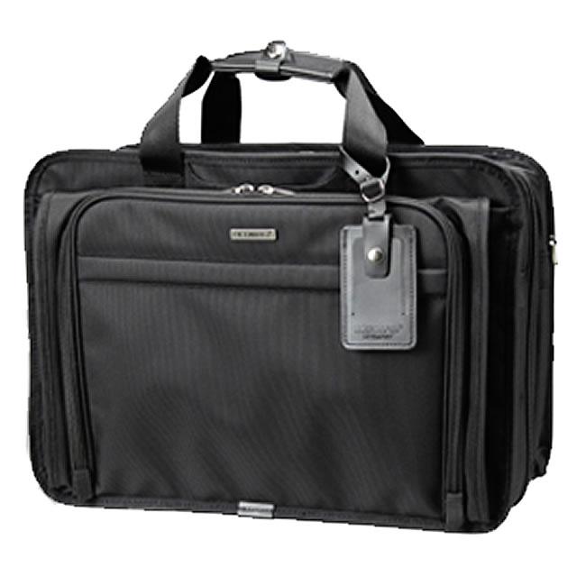 ビジネスバッグ メンズ 2way ショルダー付属 ビジネスバッグ メンズ ブリーフケース 軽量 メンズバッグ 大容量 ビジネスバッグ 出張 ビジネス ブリーフケース メンズ鞄 ナイロン ブリーフ 出張 キャリーオン マチ拡張 ブランド BERMAS バーマス 60436 45cm