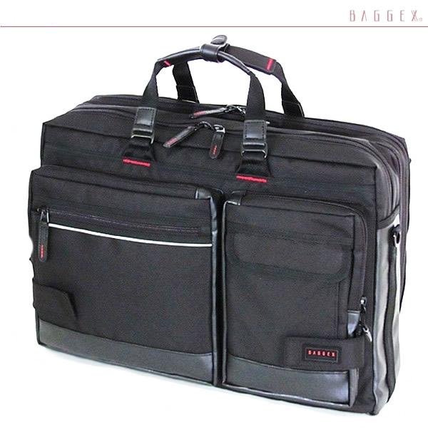 ビジネスバッグ メンズ ショルダー付属 ブリーフケース 軽量 ナイロン メンズバッグ 大容量 ビジネスバッグ 旅行 出張 2泊 ビジネス pc対応 キャリーオン ブリーフケース メンズ鞄 ブランド LIGHTNING BAGGEX