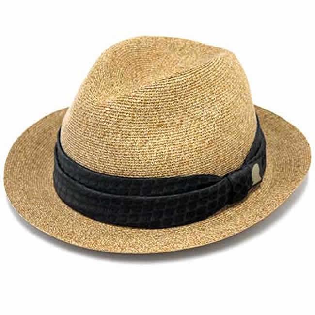 日本製 中折れ帽 ペーパーハット エクストラファイン ブレードハット ベージュ(ナチュラル) ストローハットGARYU PLANET ガリュープラネットメンズ・紳士 男性用 帽子 ハット 誕生日バレンタイン 父の日 ギフト プレゼント
