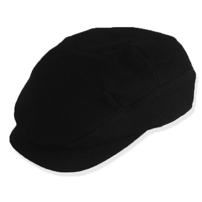 日本製 ハンチング 綿100% ハンチング 帽子 メンズ ネオハンチング(ブラック) GARYU PLANET ガリュープラネット メンズ・紳士 男性用 男女兼用 帽子 誕生日 父の日 バレンタイン プレゼント ギフト お祝い