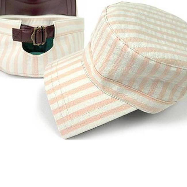 日本製 ワークキャップ メンズ 帽子 キャップ ハット 綿100% バックベルト付 ヒッコリー ワークキャップ(ピーチピンク)56~60cm  GARYU PLANET ガリュープラネット メンズ・紳士 男性用 女性 男女兼用 帽子