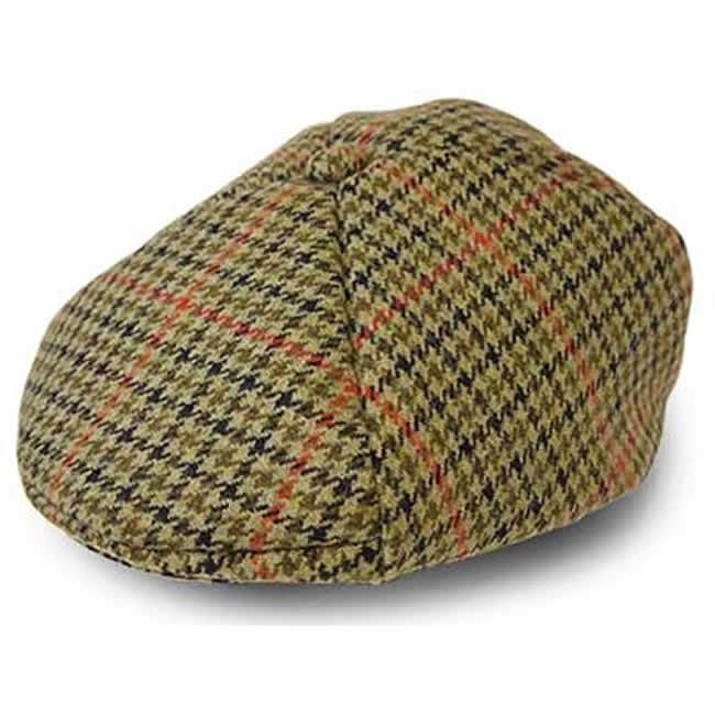 日本製 ハンチング メンズ ハンチング帽 チェックのスコットランド ツイード ハンチング帽子(MGC) GARYU PLANET ガリュープラネット メンズ・紳士 男性用 男女兼用 帽子 ハット ぼうし
