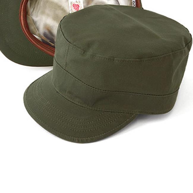 日本製 ワークキャップ メンズ 帽子 キャップ ハット ドライデン/アーミーキャップ(フォレストグリーン)57~58cm GARYU PLANET ガリュープラネット メンズ・紳士 男性用 女性 男女兼用 帽子 ぼうし ハット