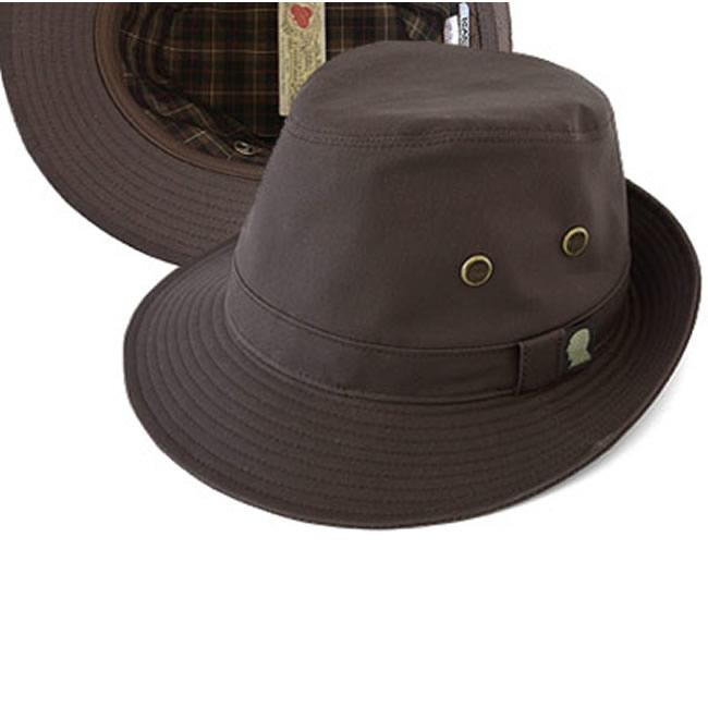 日本製 中折れハット メンズ 中折れ帽 フィールド帽子 ドライデン フィールドハット(ダークブラウン)57~58.5cm GARYU PLANET ガリュープラネット メンズ・紳士 男性用 女性 男女兼用 帽子 ぼうし ハット