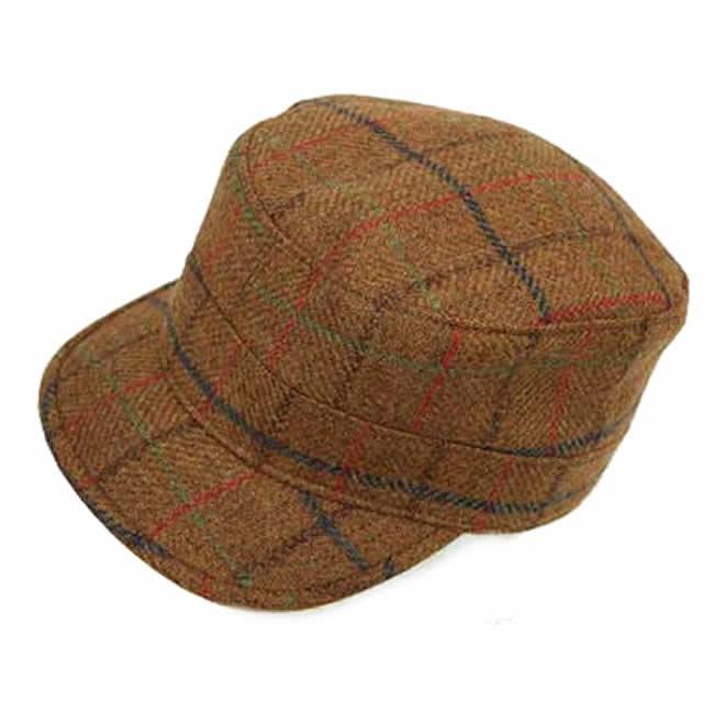 日本製 ワークキャップ メンズ 帽子 スコットランド 毛 ウール100% ワークキャップ(赤茶系)GARYU PLANET ガリュープラネット 紳士 男性用 女性 男女兼用 帽子 ハット