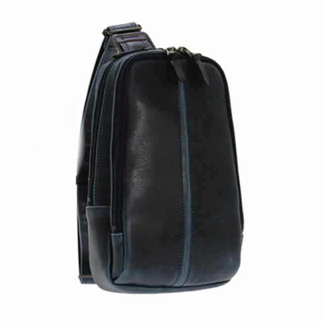 0e732b818ca7 豊岡製鞄 日本製 ボディーバッグ 本革付属 メンズ リュック ワンショルダー リュックサック ...