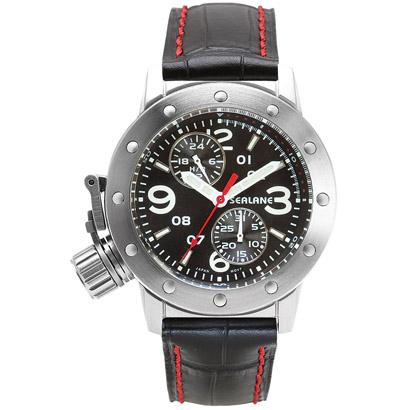 シーレーン 腕時計 SEALANE SE41-LBK