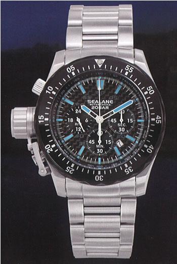 シーレーン 腕時計 SEALANE SE55-MBB