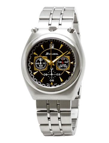 スバルバル 腕時計 メンズ腕時計 スバルバル 時計 送料無料 SVALBAL SV07-MBK 父の日・誕生日・クリスマス・プレゼント・ギフト