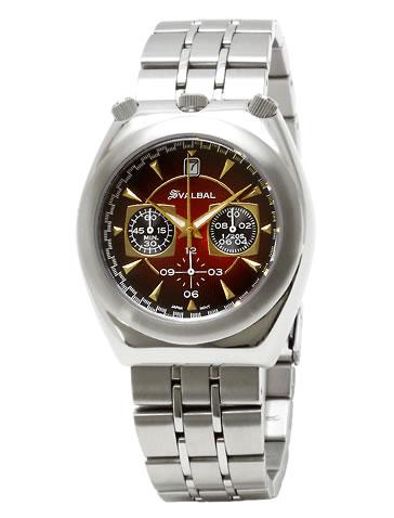 スバルバル 腕時計 メンズ腕時計 スバルバル 時計 送料無料 SVALBAL SV07-MRE 父の日・誕生日・クリスマス・プレゼント・ギフト