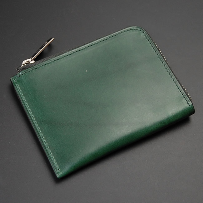 Japan-made coin purse-small L fastening coin purse wallet mens leather and  leather ... 62db94201
