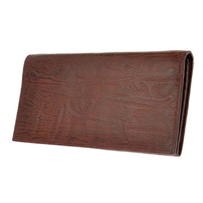 無料ギフト包装 財布 長財布 長サイフ メンズ 小銭入れあり 安全 本革 牛革 レザー カード12枚 バケッタレザー 期間限定特別価格 ブラウン