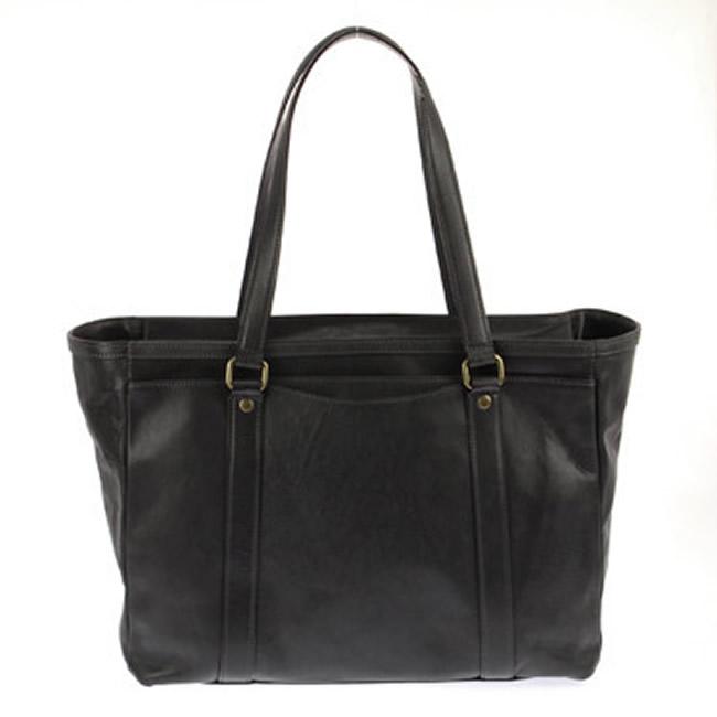 トートバッグ メンズ バッグ トート ショルダーバッグ ブリーフケース バッグ  ビジネス バッグ ダークグレイ 牛革 本革 レザー メンズ・紳士・男性 用 カバン・鞄・かばん・バッグ