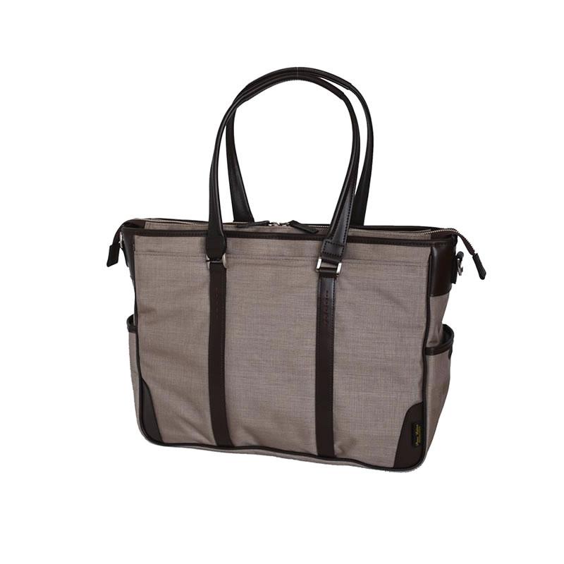 日本製 トートバッグ メンズ ビジネスバッグ 横型トートバッグ 肩掛けバッグ BEATTEX使用 ベージュ PREM-EDITOR 男性 紳士用 鞄 かばん カバン 父の日 誕生日 バレンタイン クリスマス 還暦 お祝い ギフト プレゼント