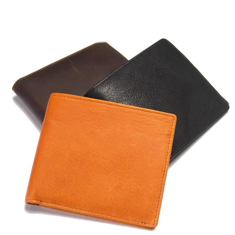 財布 メンズ 二つ折り 革 日本製 本革 鹿革 ディアスキン レザー ディアレザー 二つ折り財布 メンズ 小銭入れあり 折サイフ 男性 財布 紳士 サイフ 男性用 さいふ 紳士用 財布
