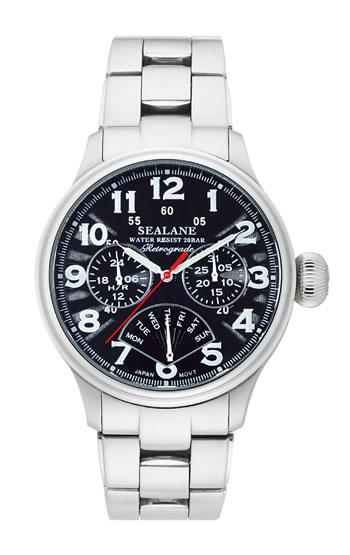 シーレーン 腕時計 SEALANE SE31-MBK