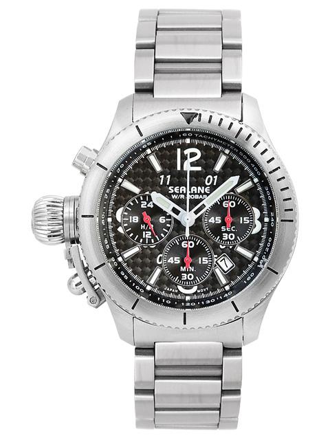 シーレーン 腕時計 SEALANE SE47-MBK