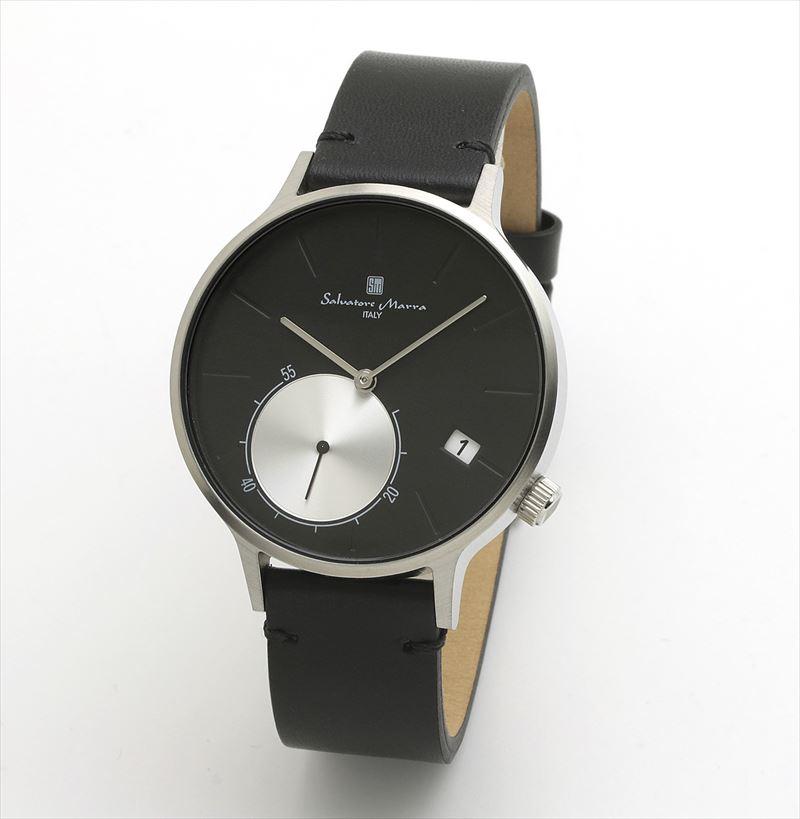 Salvatore サルバトーレマーラ Marra 腕時計 SM20105-SSBK スモールセコンド メンズ