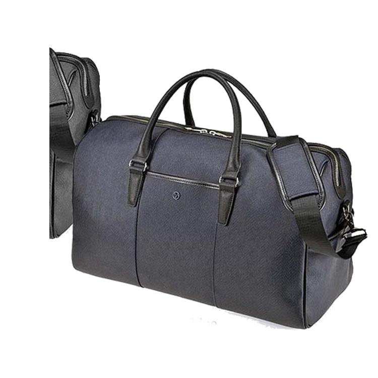 ボストンバッグ 旅行 軽量 2泊 メンズ 出張 ゴルフ ビジネスバッグ メンズ ヘリンボーン柄 大容量  ゴルフバッグ 旅行鞄 47cm ネイビーブルー BAGGEX バジェックス エッジ メンズ 紳士 男性用 バッグ かばん 鞄