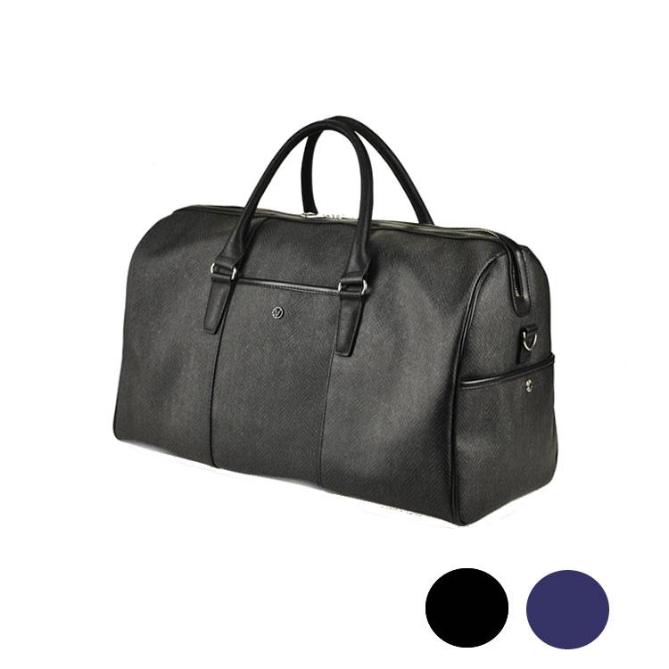 ボストンバッグ 旅行 軽量 2泊 メンズ 出張 ゴルフ ビジネスバッグ メンズ ヘリンボーン柄 大容量  ゴルフバッグ 旅行鞄 47cm BAGGEX バジェックス エッジ メンズ 紳士 男性用 バッグ かばん 鞄