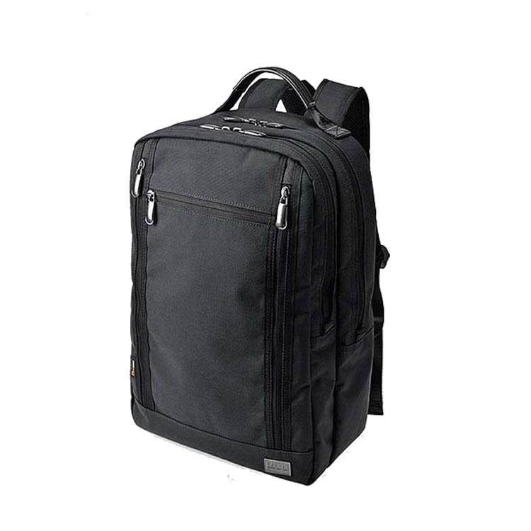 リュック メンズ ディバッグ バッグパック ビジネスバッグ 手提げバッグ 持ち手つき ダブルルーム 2室 2層 メンズ PCタブレット収納 大容量 自転車 通勤 通学 B4ファイル収納 ブラック BAGGEX バジェックス コマンド 紳士 男性用 バッグ かばん 鞄