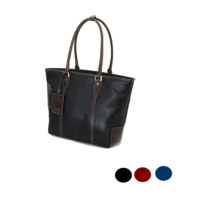 トートバッグ メンズ ビジネスバッグ 肩かけバッグ 合成皮革レザー ビジネストートバッグ  鞄  メンズ 37cm BAGGEX バジェックス トレジャー メンズ 紳士 男性用 バッグ かばん 鞄
